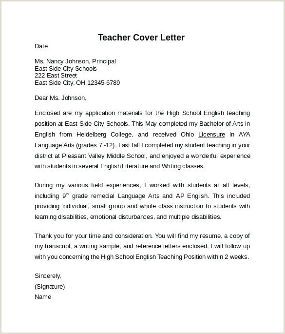 Esl Cover Letter Sample Cover Letter Examples Teacher Cover Letters Sample English