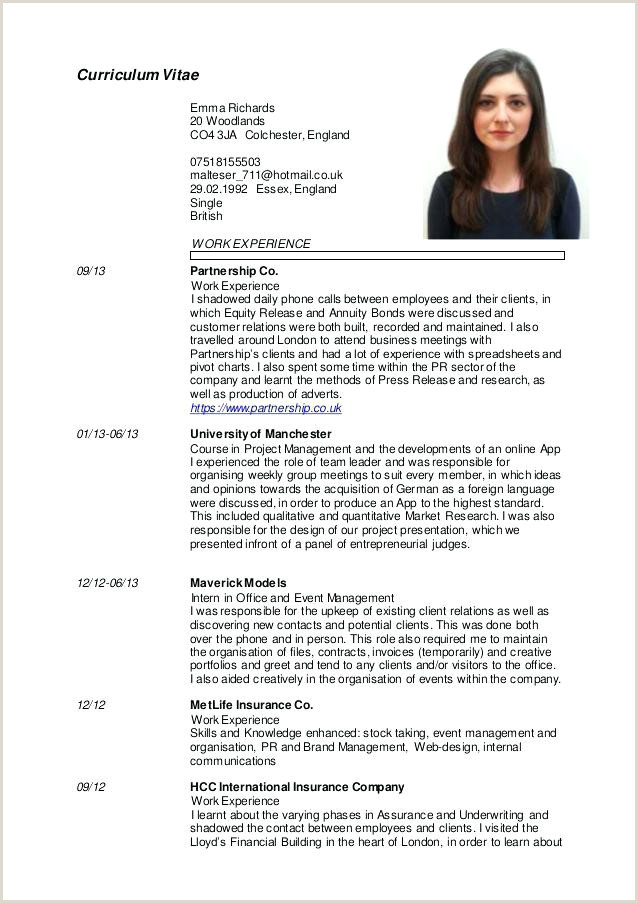 Europass Cv format English Cv English Template Sample Free Marketing – Jonandtracy