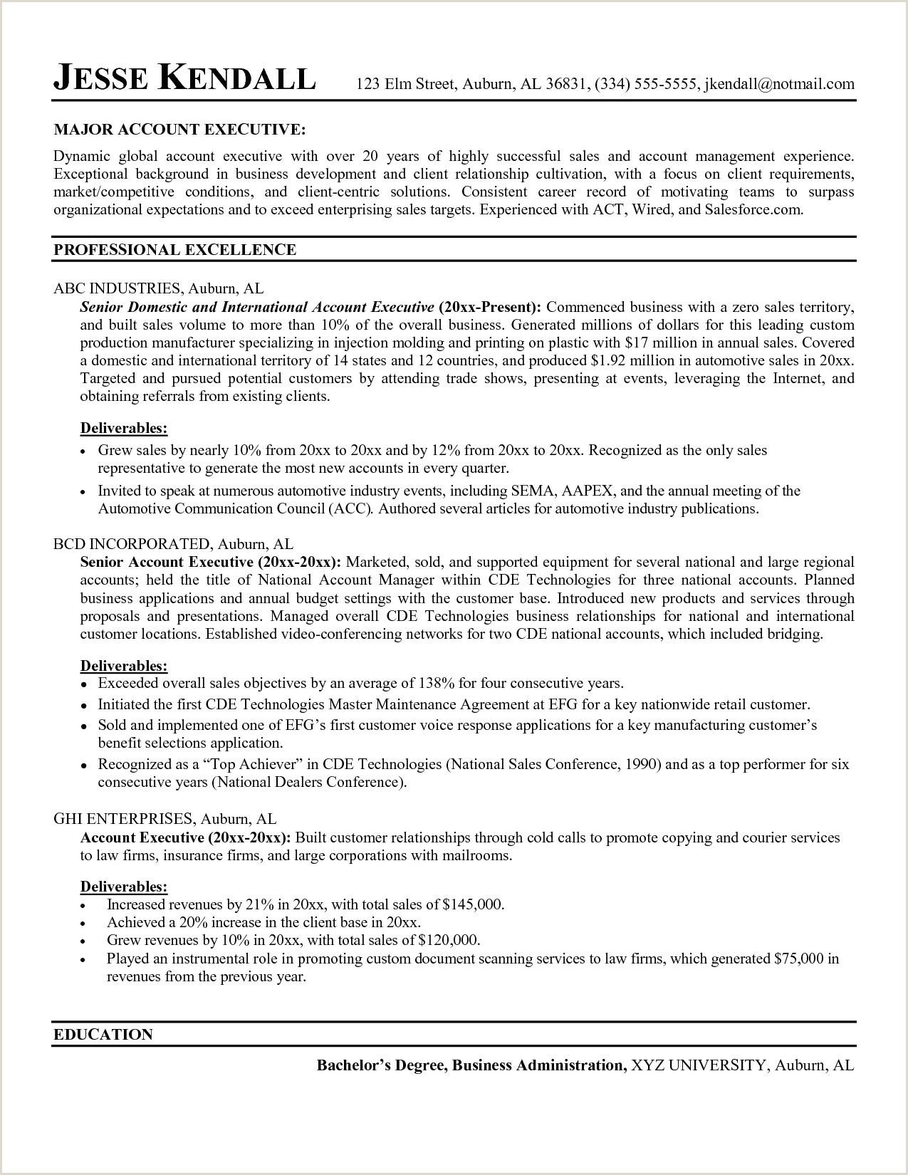 Cv Model Francais Professionnel Best Resume Templates for