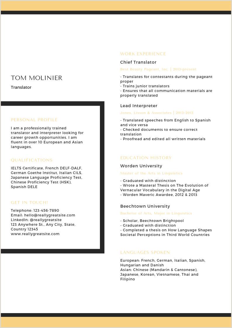 CV d étudiant 50 mod¨les tendance et originaux Canva