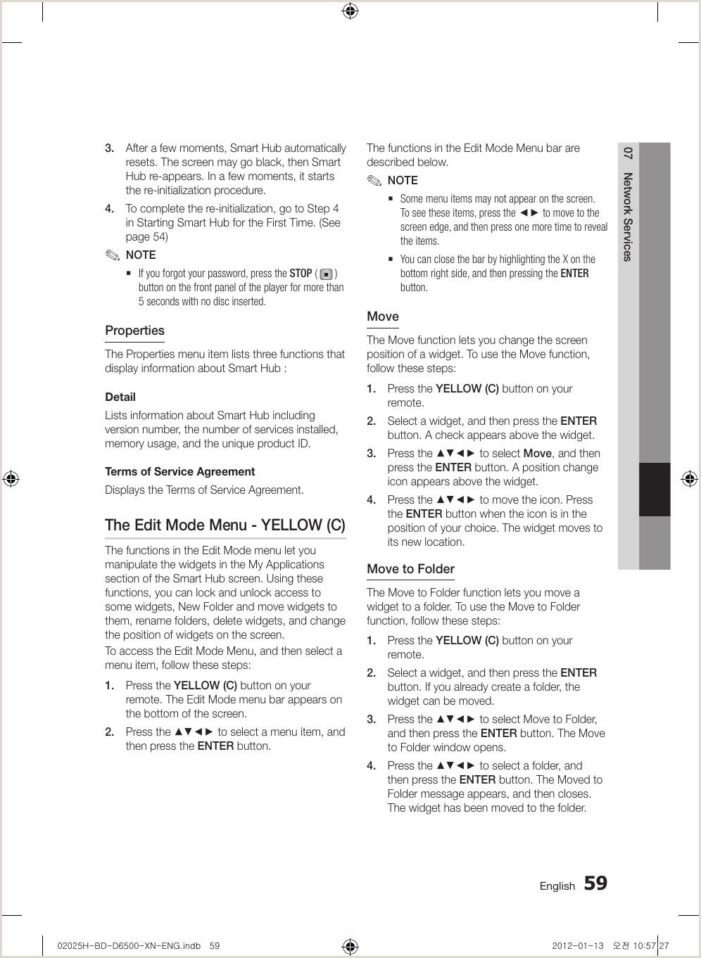 Samsung Bd D6500 Smart 3D Users Manual