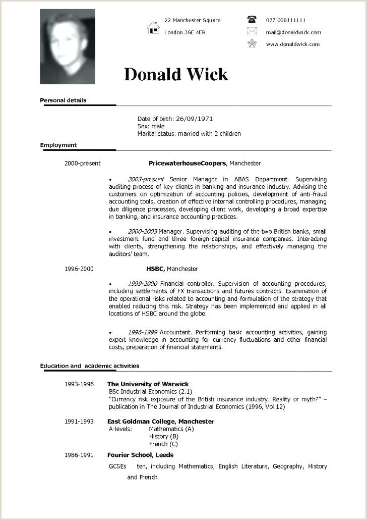 Europass Cv Template English Doc English Cv Template