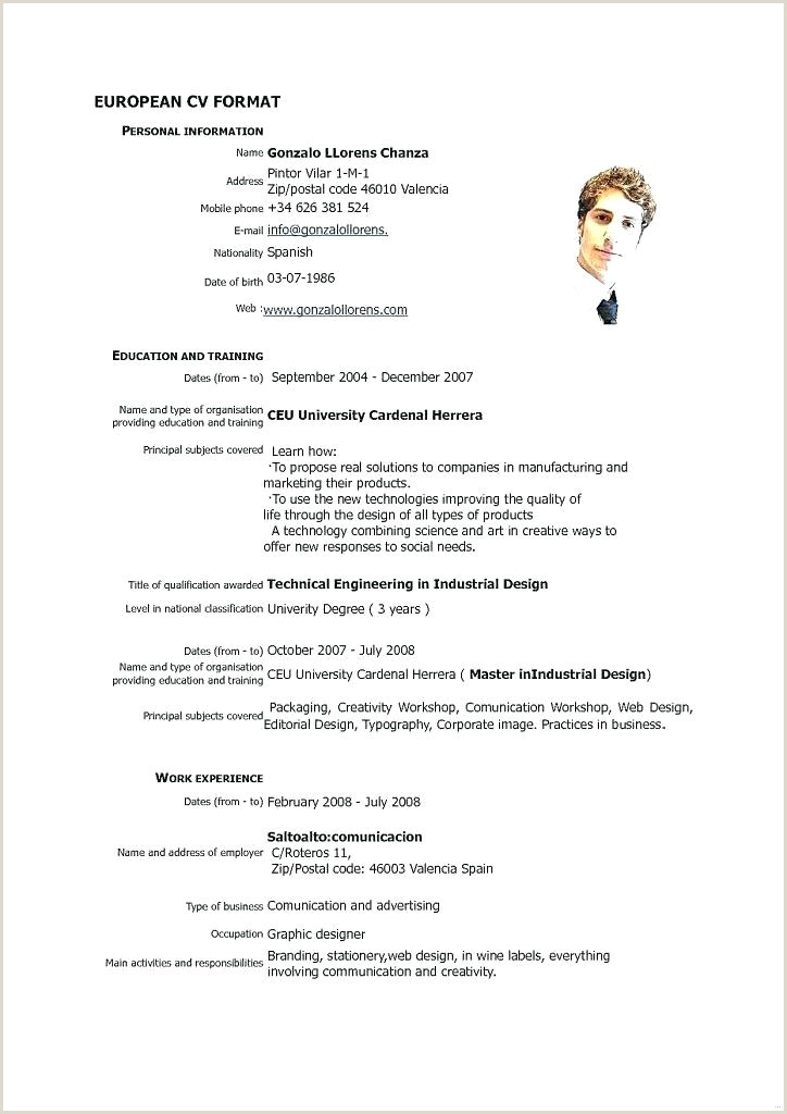 Europass Cv format Pdf Italiano Resume format for Job Application How Write A Applying