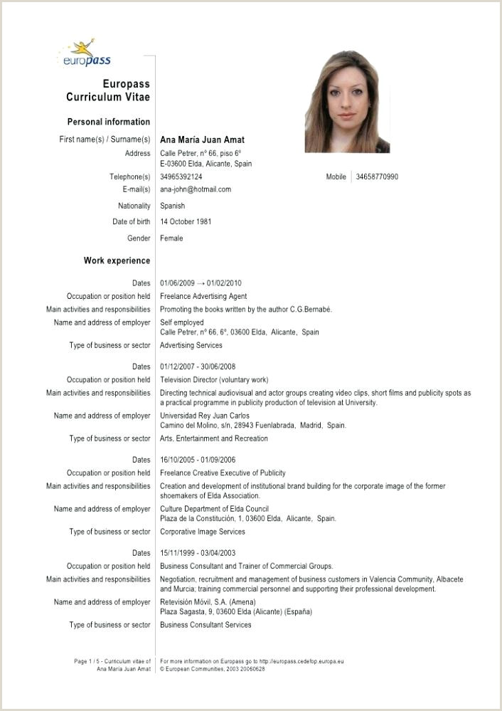 cv template european – inscriptic