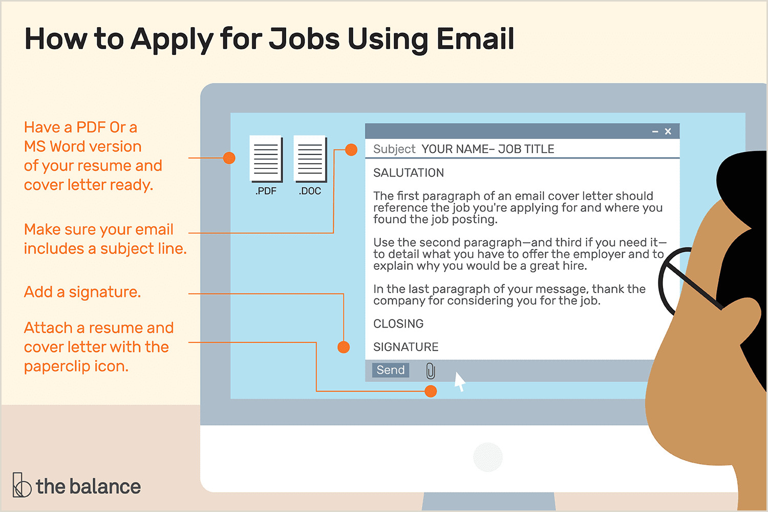 Example Cv for Job Application Doc How to Apply for Jobs Using Email