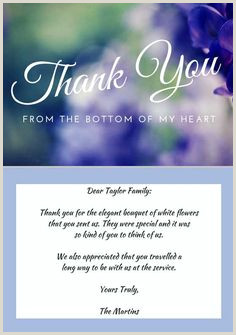78 Best Funeral Thank You Cards images in 2019