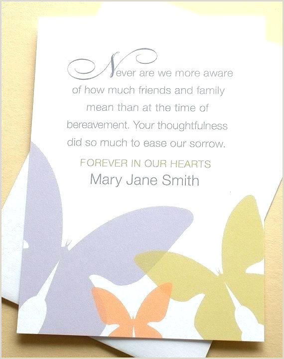 Bereavement Thank You Quotes Sympathy Cards Card Messages