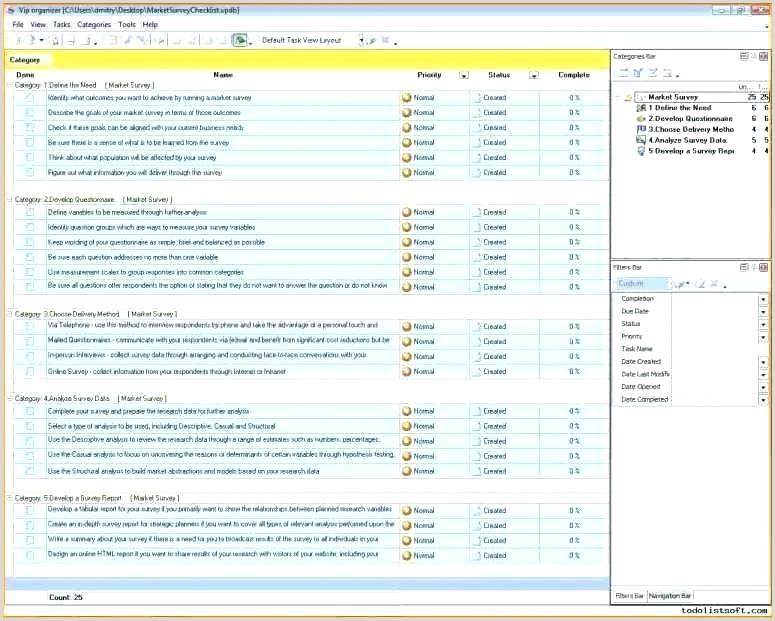 Sample Excel Survey Template Survey Spreadsheet Template