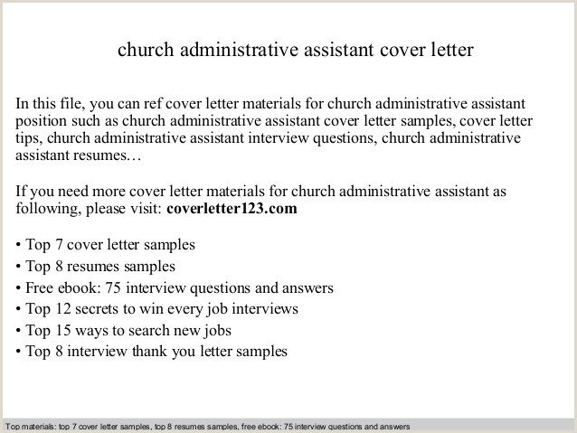 church cover letter Sofasdocsurvey