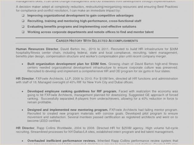 82 Managing Director Resume Sample