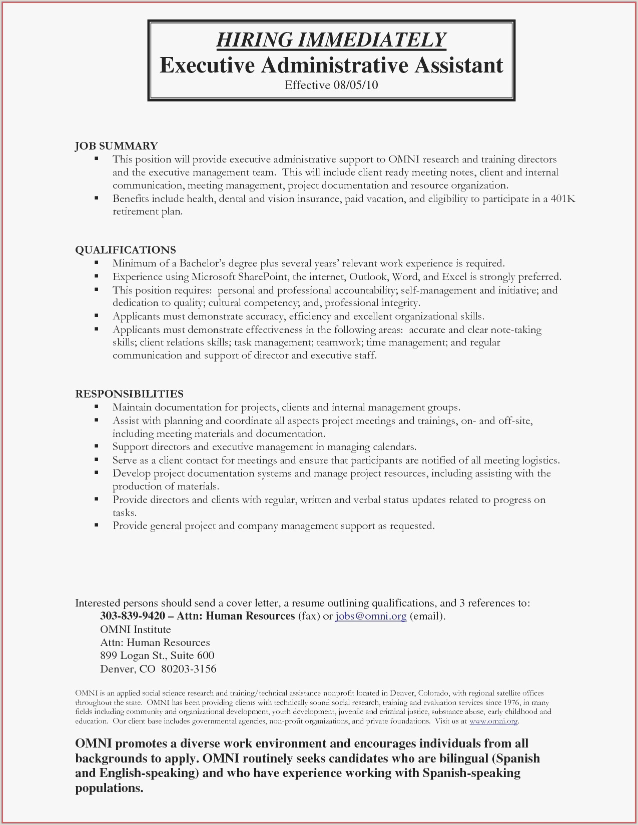 Executive Job Cover Letter 12 Resume Cover Letter Examples Internal Position