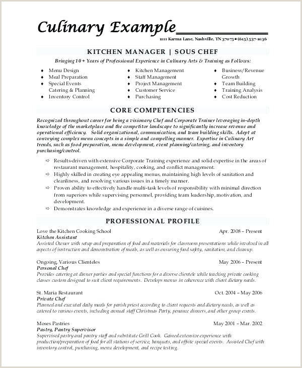 Cover Letter for Trainee Chef New the Best Resume Sample