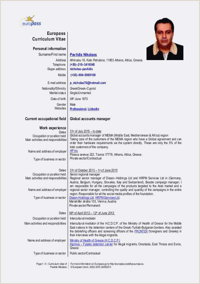 Exemple Cv format Europass Cv Europass Exemple Frais Stock Cv Mod Le Rose