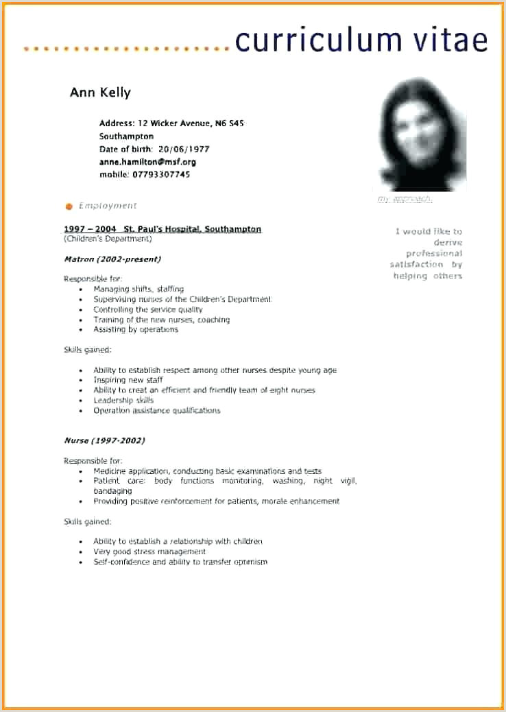 Exemple De Curriculum Vitae En Pdf Creer Cv Gratuit Pdf De Luxe Modele De Cv Modele De Cv Uri