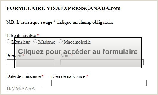 Exemple De Curriculum Vitae Quebec Visa Immigration Express Canada Tm