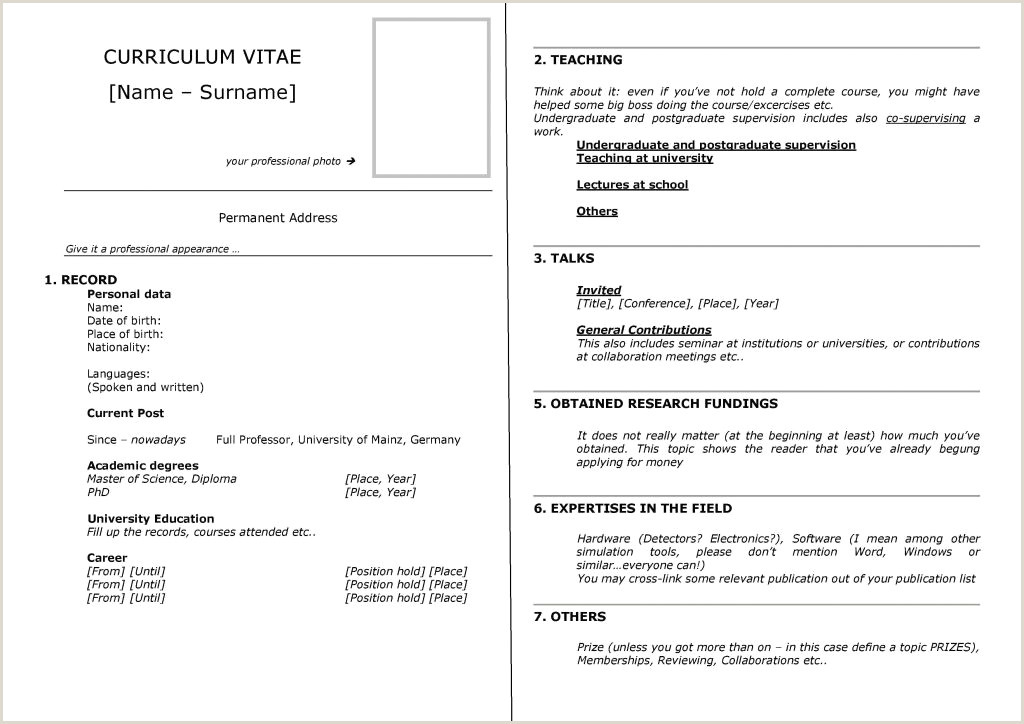 Exemple De Cv En Anglais Word élégant Collection Faire son