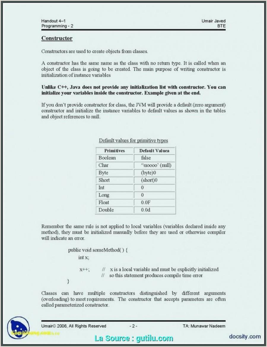 Nouvelle Exemple De Cv Et Lettre De Motivation En Anglais