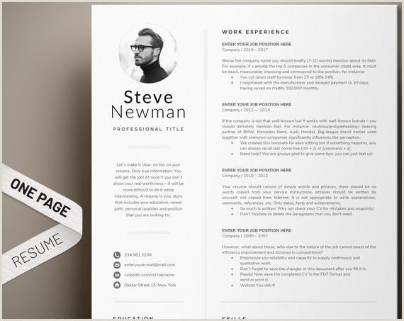 CV minimaliste mod¨le Word CV professionnel