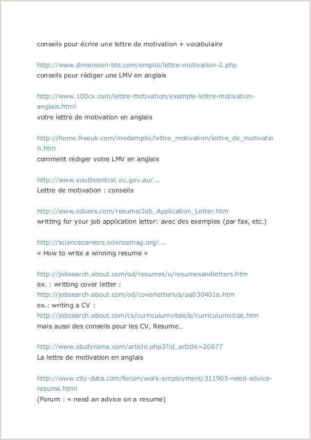 Exemple De Email 21 Exemple De Lettre De Motivation En Arabe