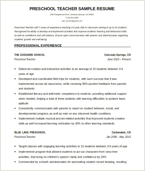 Exemple De Cv Infirmier Exemple Model D Un Cv Unique S