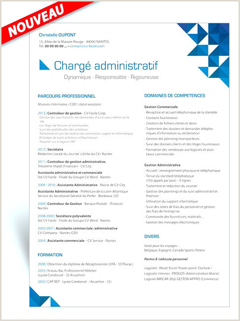 Exemple De Cv assistant Commercial Et Administratif 57 Modele Lettre De Motivation assistante Merciale