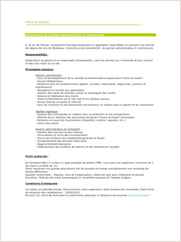 Exemple De Cv Bac Pro Gestion Administration Exemple Cv Bac Pro Merce Iulitte
