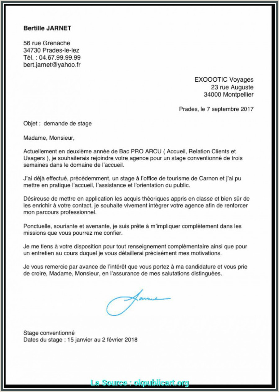 Photo of Exemple De Cv Bac Pro Sn