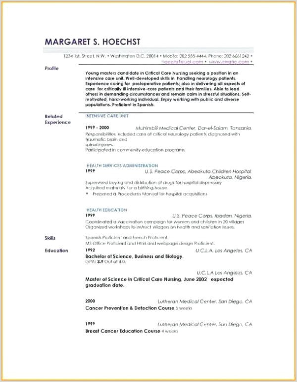 Description Profil Exemple Cv Schön Profil Cv Exemple