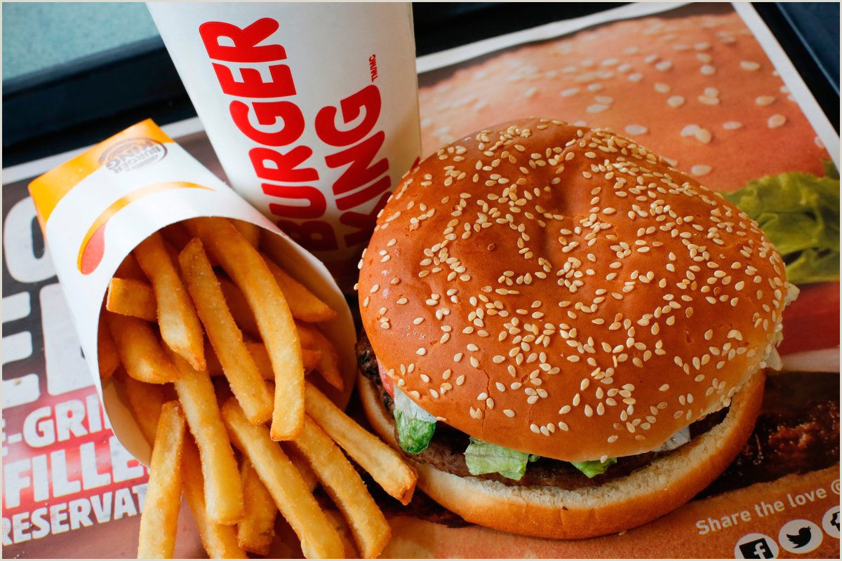 Exemple De Cv Burger King Agréable Burger King is Back