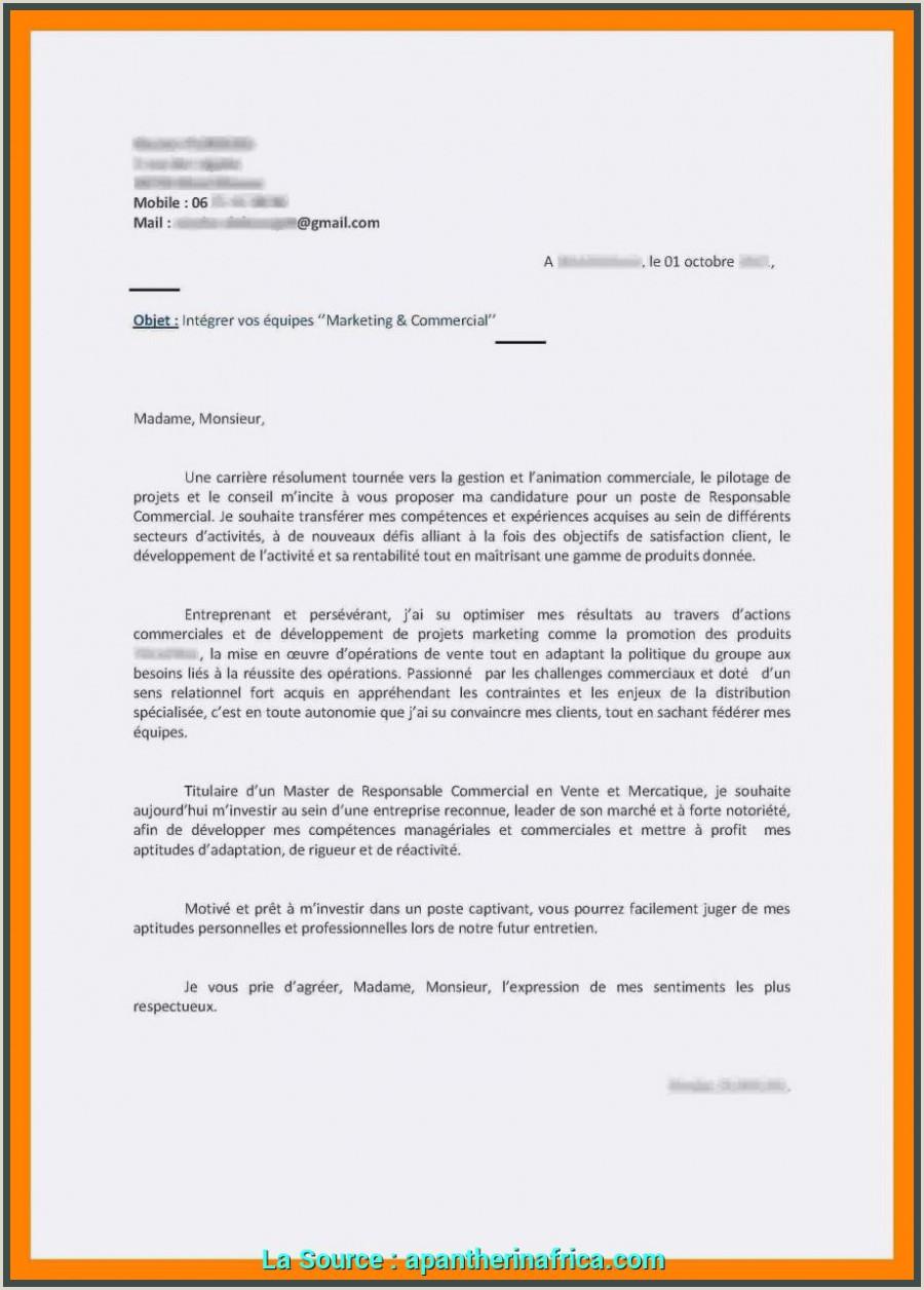 Nouveau Lettre De Motivation Master 1 Campus France 20 Cv