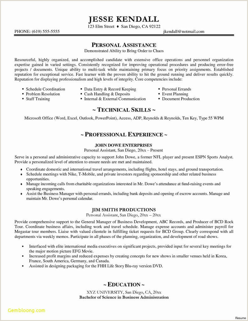 Exemple De Cv Canadien Word Modele Cv original Word De Luxe 23 New Resume Templates Word