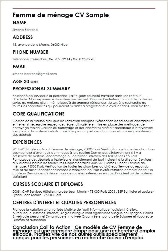 Modele De Cv Simple Pour Etudiant Unique Cv En Francais