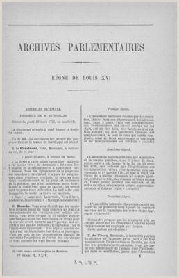 Archives numériques de la Révolution fran§aise Rechercher