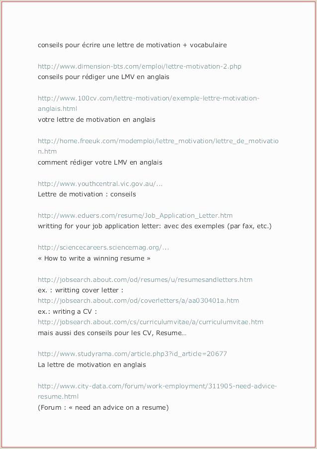 Exemple De Cv Chronologique Pdf Exemple De Lettre En Anglais Pour Un Ami Pdf Nouvelle 80