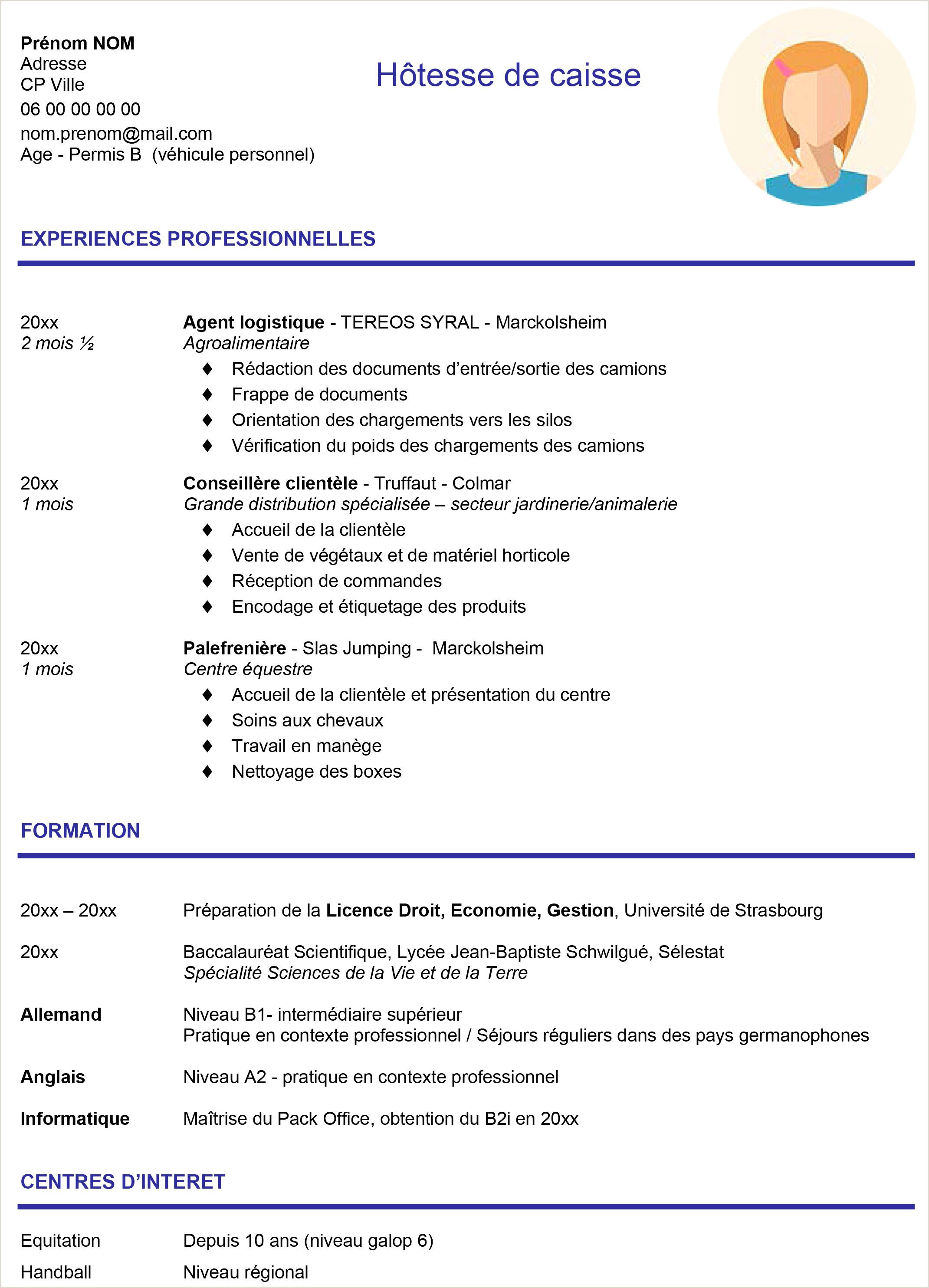 Exemple De Cv Gratuit Simple Medical assistant Resume