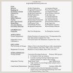 Exemple De Cv Douce Example Cv Resume Resume Image