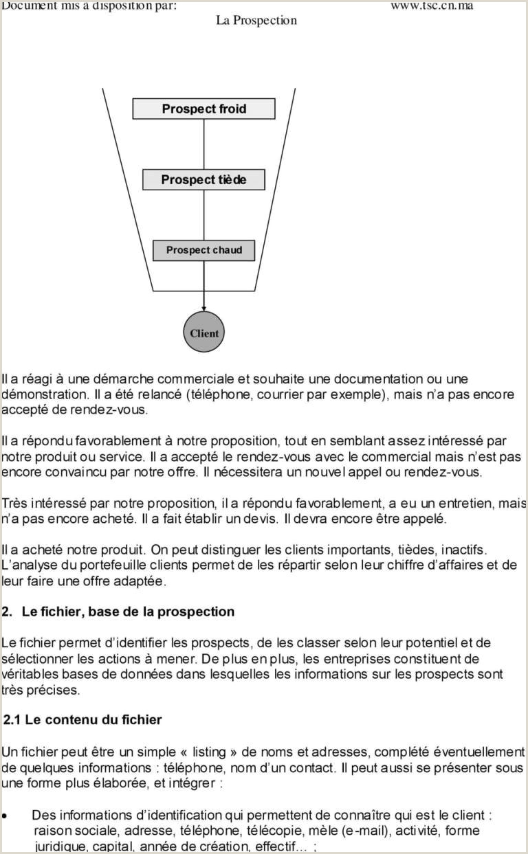 Exemple De Cv Commercial Pdf Lettre Fre Merciale Exemple Pdf Exemple De Lettre De
