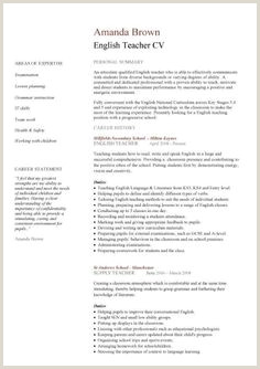 Exemple De Cv De Prof Danglais 10 Meilleures Images Du Tableau Cv English