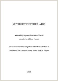 Without Further Ado Adolphe Haberer ou la poésie en partage