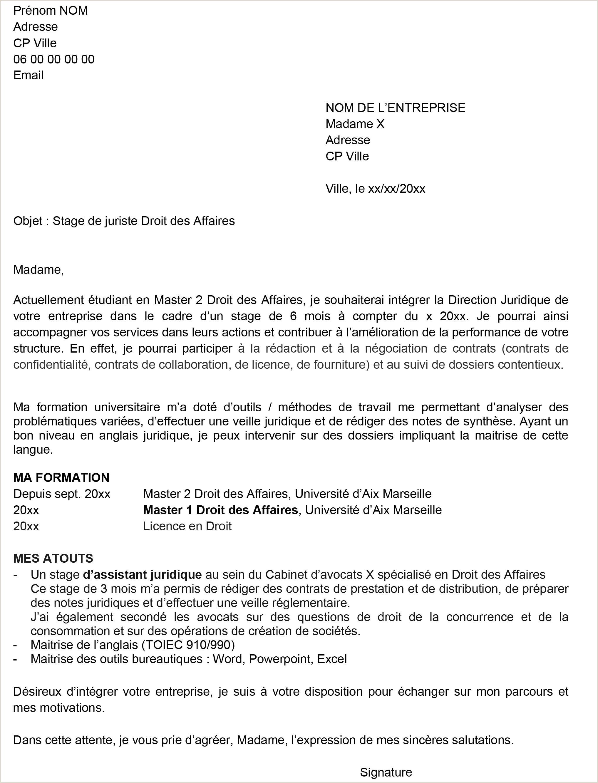 Exemple De Cv De Stage Au Maroc Pdf Exemple De Lettre De Motivation Pour Master Pdf Nouvelle