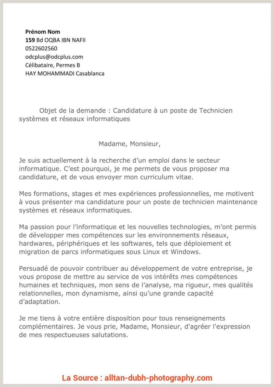 Exemple De Cv De Stage Au Maroc Pdf Idéal Lettre De Demande D Emploi Btp Cv Batiment Peintre