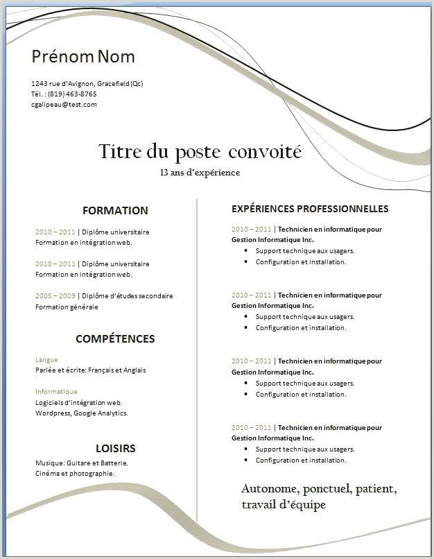 Exemple De Cv De Travail Pdf Cours De Coiffure Gratuit Pdf 62 Modele Cv Coiffure Gratuit