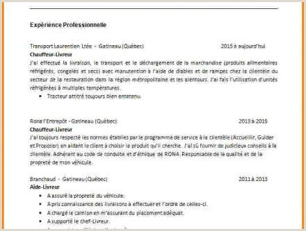 Exemple De Cv Debutant Maroc Buyintuscany
