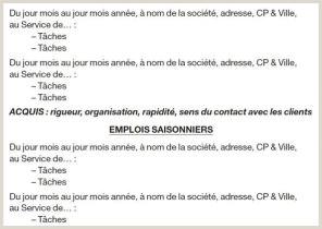 Exemple De Cv Denseignant En Francais Exemple De Cv Enseignant Du Secondaire Brain Sa