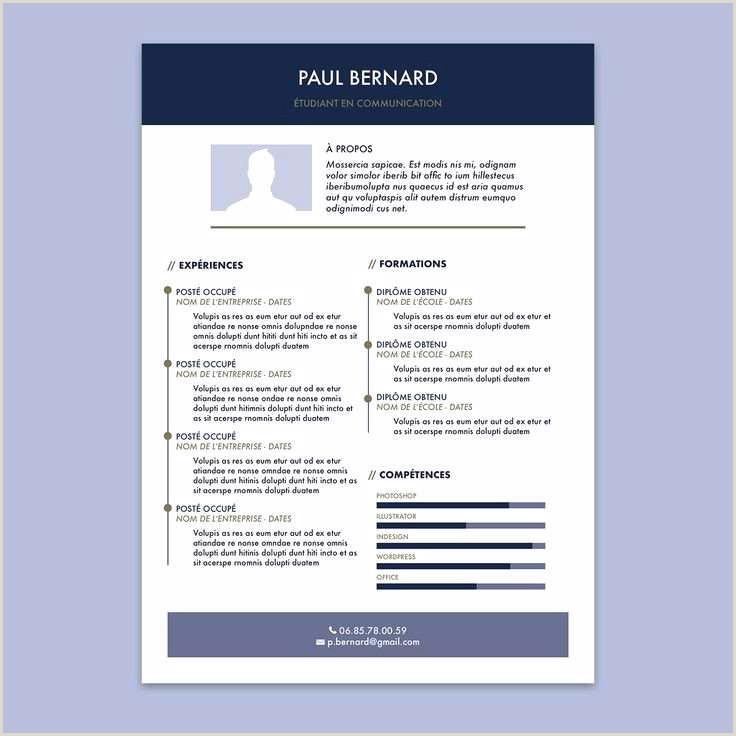 Exemple De Cv Dun Chauffeur 70 échantillon Cv Gestion Administration