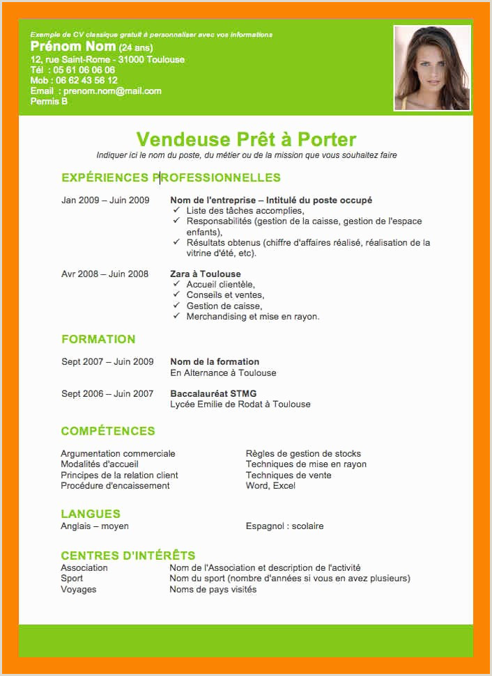 Exemple De Cv Dun Commercial Modele Cv Petence Model D Un Cv Unique S Exemple Cv