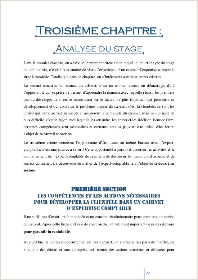 Exemple De Cv Dun Comptable Pdf Rapport De Stage Ptabilité Sujet Les Pétences Et