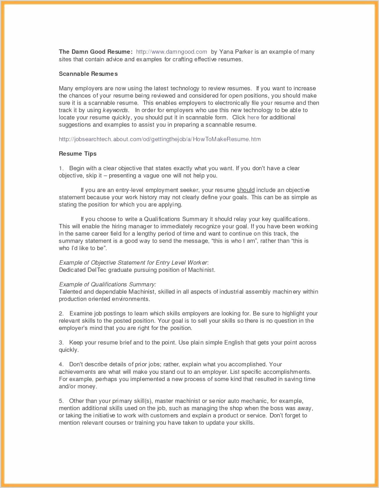 Profil Dans Un Cv échantillon Australian Resume Best Cv In