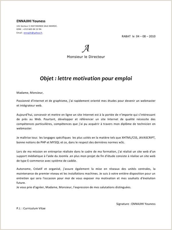 Exemple De Cv Et Lettre De Motivation Pdf Nouvelle Exemple De Lettre De Motivation En Anglais 3eme