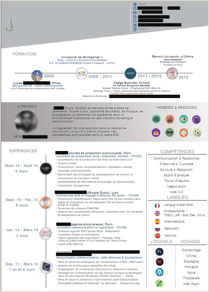 Exemple De Cv étudiant En Pdf Nouvelle Mod¨le De Lettre Word 2007
